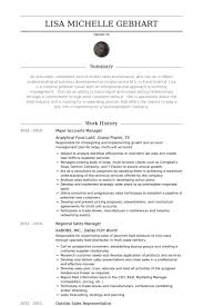 Food Industry Resume Examples by Accounts Manager Resume Samples Visualcv Resume Samples Database