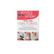 amazon com asp form a nail false nails beauty
