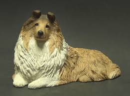 dogs sheltie boxed by sandicast sculpture replacements ltd