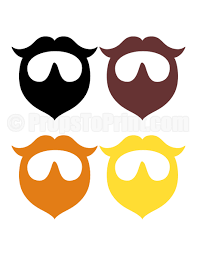 photo booth prop printable beard photo booth prop create diy props with our free