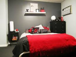 red accessories for bedroom home