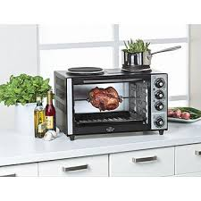 Toaster Oven Microwave Combination Fingerhut Sharper Image Oven Stove Top Combo