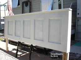 designdreams by anne vintage door headboard