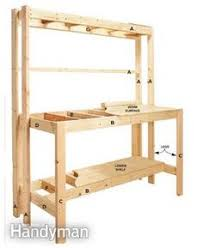Free Wood Workbench Designs by Build A Bench Easy I Like Easy I Ended Up Using 2x4 U0027s For The