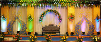 wedding backdrop on stage wedding stage decorators decorations in coimbatore