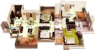 Crystal House Floor Plans Kamp The Crystal Residency In Zone L Dwarka Delhi Price
