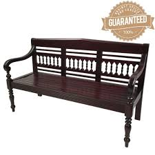bench order solid mahogany wood 2 seater bench sofa antique reproduction