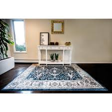 Navy White Area Rug Home Dynamix Reaction By Daisy Fuentes Navy Ivory 7 Ft 10 In X