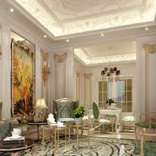 french design home decor classic french interior design with false ceiling and classic chairs