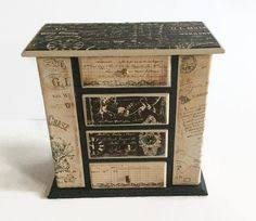 Shabby Chic Jewelry Display by Light Green Shabby Chic Jewelry Box Upcycled By Huckleberryvntg