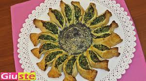 cuisine epinard quiche en forme de tournesol épinards et ricotta