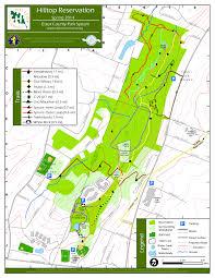 map of essex county nj hilltop reservation parks essex county parks