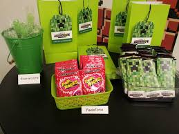 goodie bag ideas best 25 minecraft party bags ideas on mine craft