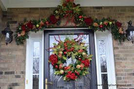Christmas Decoration For Front Door by Christmas Decorating Tips To Enhance Your Holiday Season
