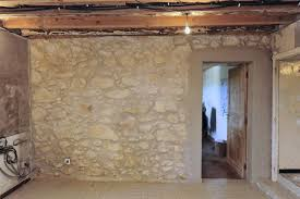 Should I Insulate My Interior Walls Pointing A Stone Wall Property U0026 Home Survive France