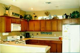 above kitchen cabinet ideas size of diy kitchen decor ideas decorating wall
