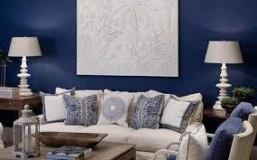 blue livingroom living room blue interior design