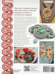 Jewelry Making Book Dot U0027s Book Case Soutache 30 Gorgeous Bead Embroidery Designs