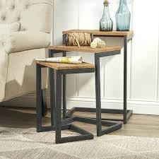 3 piece nesting tables wayfair nesting tables dynamicpeople club