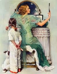 marmont hill going out by norman rockwell painting print on