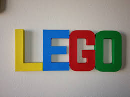 living my charmed life kids room letters lego theme cheap and easy
