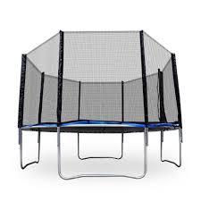 trampolines 12 u0027 jump trampoline with safety enclosure ebay