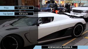 koenigsegg car price lamborghini veneno vs koenigsegg agera r specifications youtube