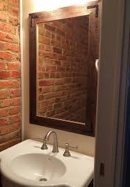 reclaimed wood bathroom mirror beautiful bathroom rustic wall mirror large wall mirror 24 x 36