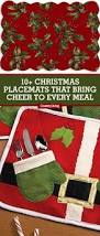 10 best christmas placemats holiday themed place mats to buy now