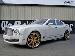 bentley gold bentley mulsanne with 24in 24k gold forgiato capolavaro wheels 2
