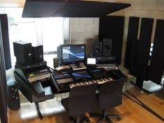 recording studio mixing desk for digital audio workstations and