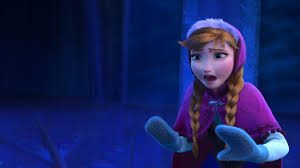 film elsa i anna one of the few moments in the film where anna was afraid of elsa