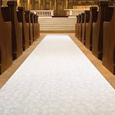 aisle runners for weddings beistle 53026 elite collection aisle runner 3 by