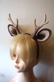 deer ears headband faun 6 antlers and ears headband deer by whitefoxhats