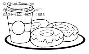 donuts coloring pages clipart images stock photos acclaim images