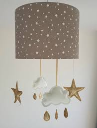 nursery light fixtures star lampshade cloud nursery decor cloud mobile taupe