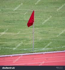 Red Flag Football Flag Football Corner Stock Photo 314932559 Shutterstock