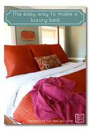 How To Make A Bed With A Duvet Fieldstone Hill Design Page 67 Of 194 Beautiful Living