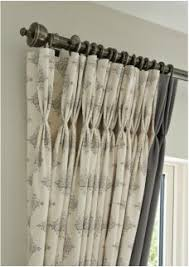 Wild Things Interiors Cartridge Pleats Give A Modern Finish To These Silk Curtains