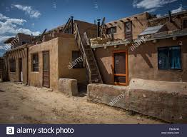 new mexico house adobe houses sky city acoma pueblo new mexico stock photo