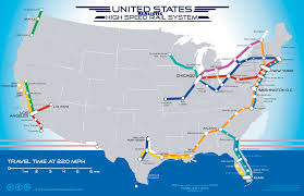Amtrak Route Maps by High Speed Rail Map Page 3 High Speed Rail Discussion Amtrak