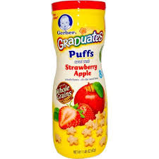 graduates snacks gerber graduates puffs cereal snacks sheri s store to door