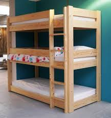 Loft Bed Plans Free Dorm by Diy Triple Bunk Bed Plans Triple Bunk Bed Pdf Plans Wooden Plan