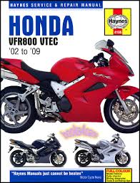 shop manual vfr800 interceptor service repair honda haynes book