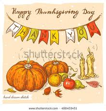 happy thanksgiving day card poster menu stock vector 231568312
