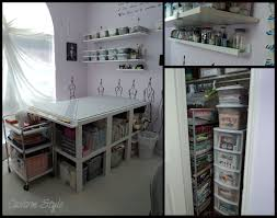 how i organized my sewing room sewing rooms room and lack table