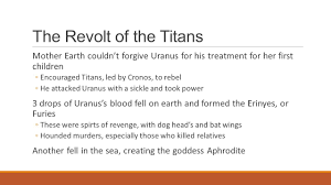 introduction to greek mythology the creation the ancient greek