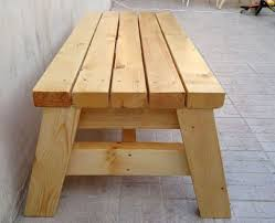 How Do I Build A Wooden Picnic Table by Best 25 Build A Bench Ideas On Pinterest Diy Wood Bench Bench
