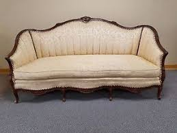 Vintage Settee Loveseat Early 1900 U0027s Antique Victorian Loveseat Settee Sofa Chaise Couch