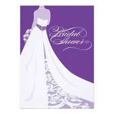 bridal shower invitations purple bridal shower invitations